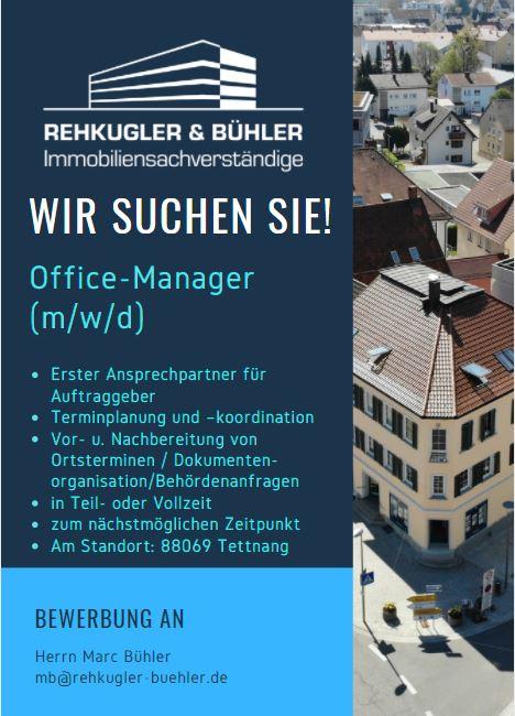 Office-Manager Rehkugler-Bühler